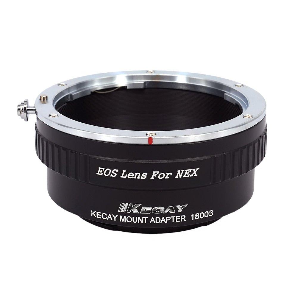 EOS-M4//3 KECAY Anello Adattatore per Obiettivo di Canon EOS EF EF-S su Corpo Micro Four Thirds M4//3 Compatibile con Panasonic G3 G10 GX1 GH1 GH2 GF1 GF2 GF3 GF5 GH4 Olympus PEN OM-D E-M5 E-M10 ecc
