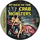 Attack of the Crab Monster (1957) Classic Sci-fi and Horror Movie DVD-R