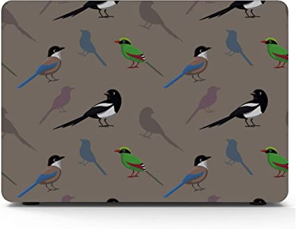 MacBook Pro Retina Case Spring Cute Hummingbirds Flowers Plastic Hard Shell Compatible Mac Air 11 Pro 13 15 A1706 MacBook Pro Case Protection for MacBook 2016-2019 Version