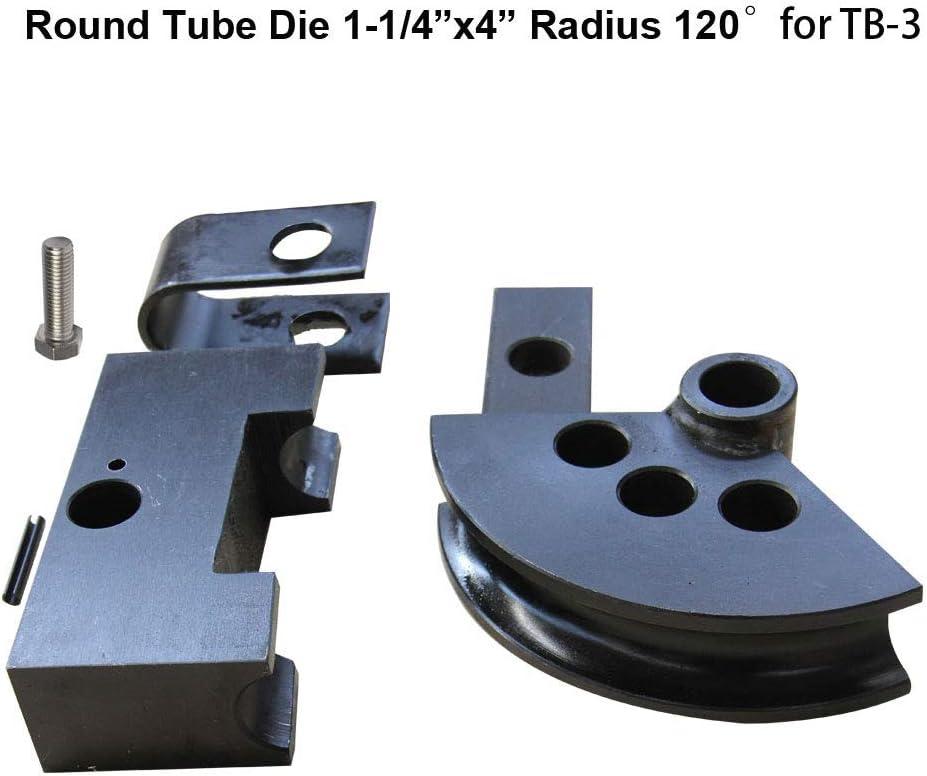 Round Tube Die 1-5//8 X5 Radius 120/º for TB-3 Round Tube Die for TB-3