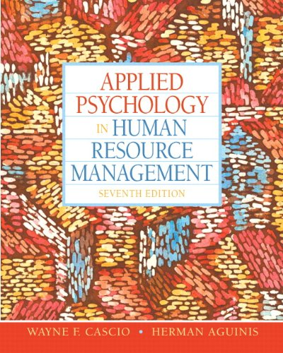136090958 - Applied Psychology in Human Resource Management (7th Edition)