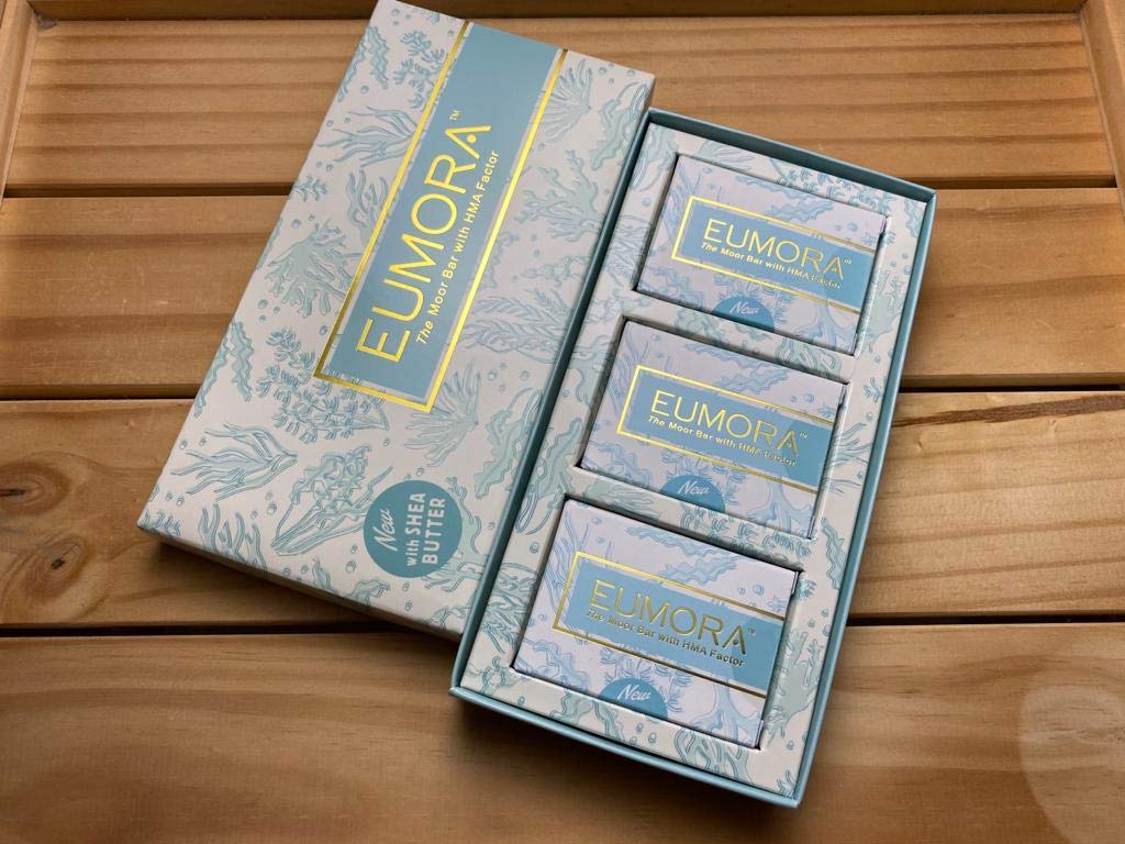 NEW EUMORA Miracle Moor Bar with Shea Butter (105 Grams / 3.7 Oz) ANTI-Aging, All Skin Types, Natural EXP:12/22