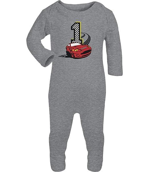 Shirtgeil Erster Geburtstag Junge 1 Jahr Rennauto Baby Strampler