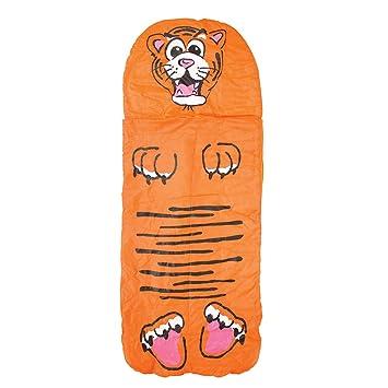 Yellowstone - Saco de Dormir para niños, diseño de cocodrilo Naranja diseño de Tigre Talla:n/a: Amazon.es: Deportes y aire libre