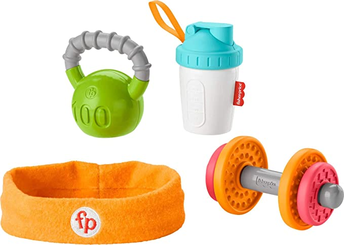 Leggings Teething Ring Bib /& Headband GIFT SET: Complete Set