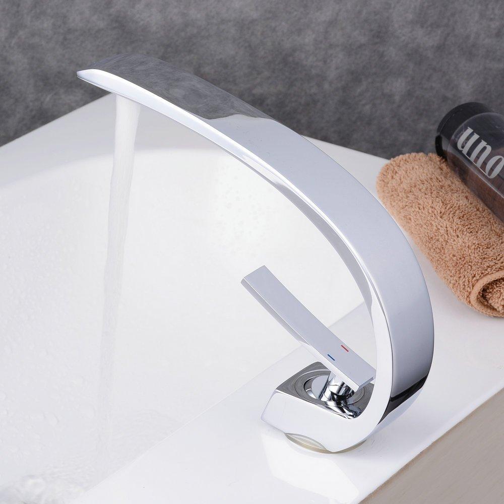 Nero lavello rubinetto a leva bagno miscelatore monocomando olio strofinato bronzo