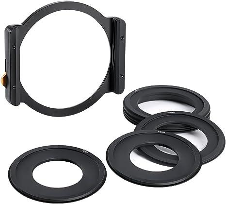 K&F Concept Portafiltro de Metal para Filtro Cuadrado Soporte de ...