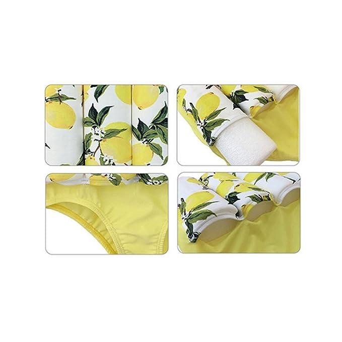 Vine Traje de natación para niños Chaleco de natación para traje de flotación bebé Amarillo: Amazon.es: Bebé