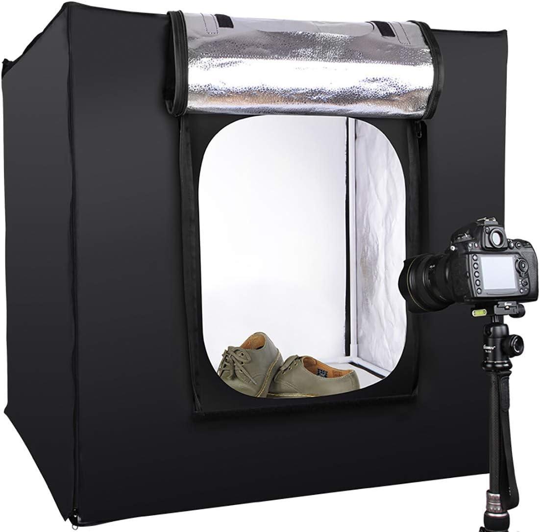 Portable Photo Studio Box Folding Shooting Tent Kit HWENJ Mini Portable Photography Studio Light Tent Shots Photography Etc for Jewellery Food