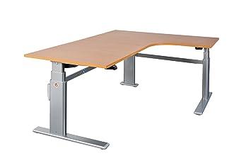 Schreibtisch Winkelschreibtisch Eckschreibtisch Elektrisch
