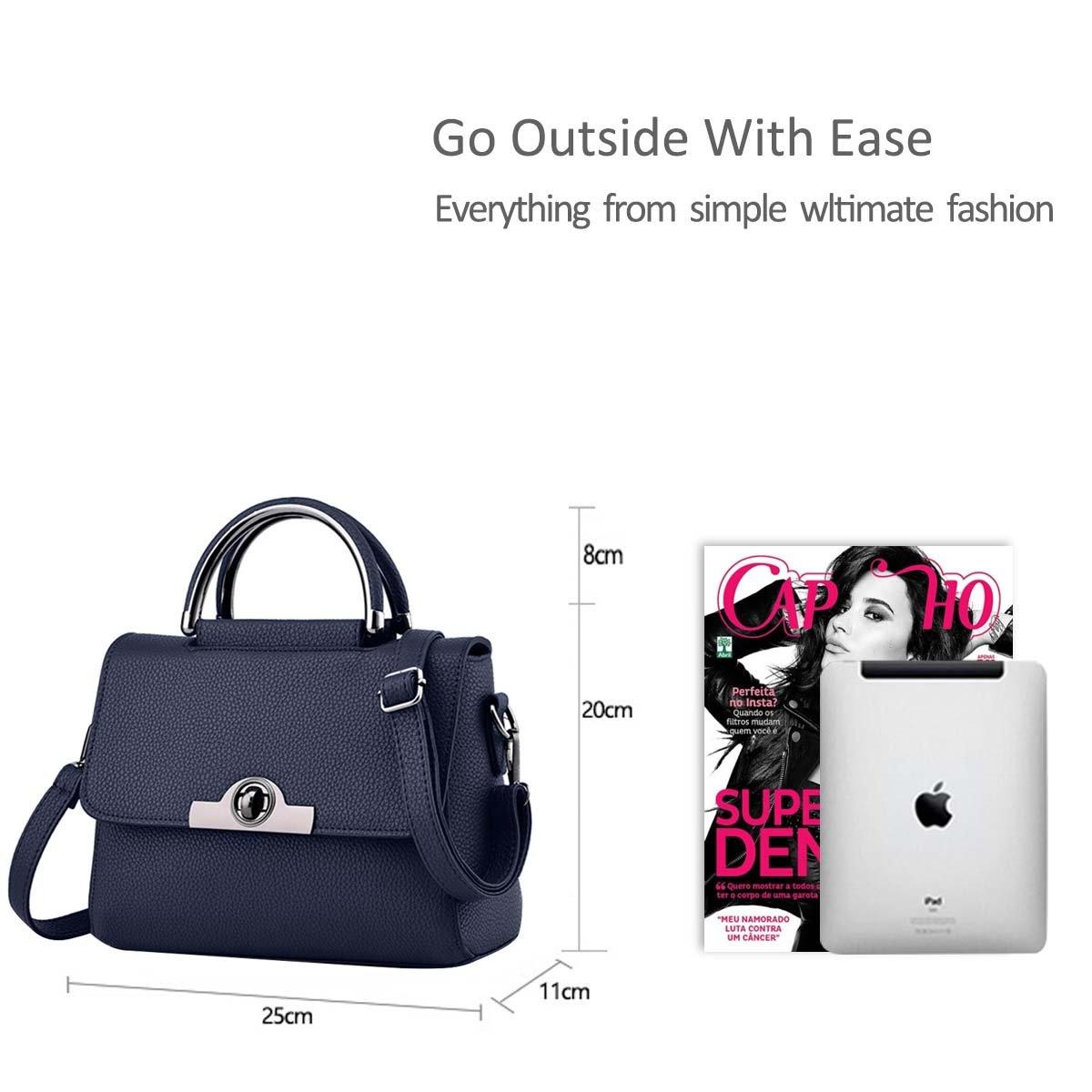 b9c258de6a0 Nicole Doris New Bag Ladies Fashion Handbags Mini Shoulder Messenger Bag  Women Purse(Deep Blue)  Amazon.in  Shoes   Handbags