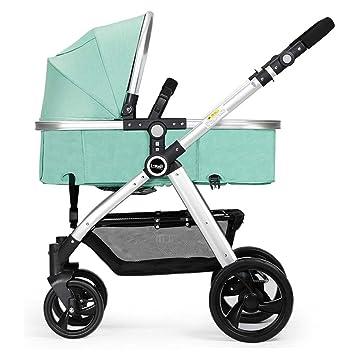 Sillas de paseo ERRU- Cochecito de bebé plegable/Puede ...
