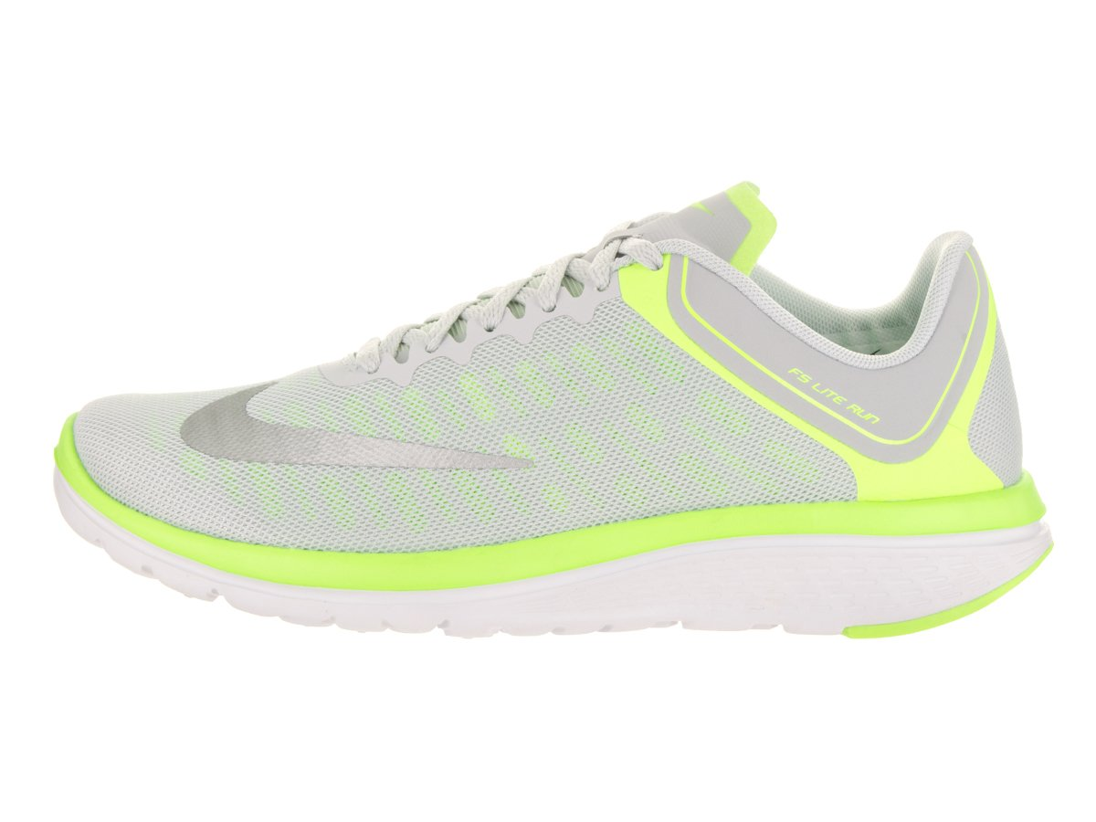 Scarpa da running Nike Womens FS Lite Run 4 Pure Platinum / Metallic Silver 8 Donne US--Scarpe da calcio da uomo di grafica Fg Evopower 3.3, sicurezza giallo / bianco, 11,5 M US