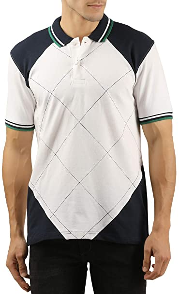 91ed6bb1845 WEXFORD Men s Half Sleeve Roundneck Printed Cotton Casual T-Shirt  Amazon.in   Clothing   Accessories