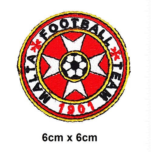 Extreme Sports Appliques (Malta Football Team 1901 Soccer Malta Sports extreme sports Vest Logo Vest Jacket cap Hoodie Backpack Patch Iron On/sew on patch)