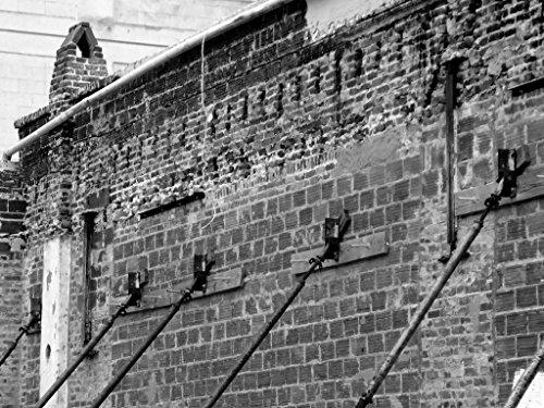 Atlanta Country Club (Black and White Photography, Industrial Wall Decor, Architecture Photograph, Atlanta Photo, Armory Club)