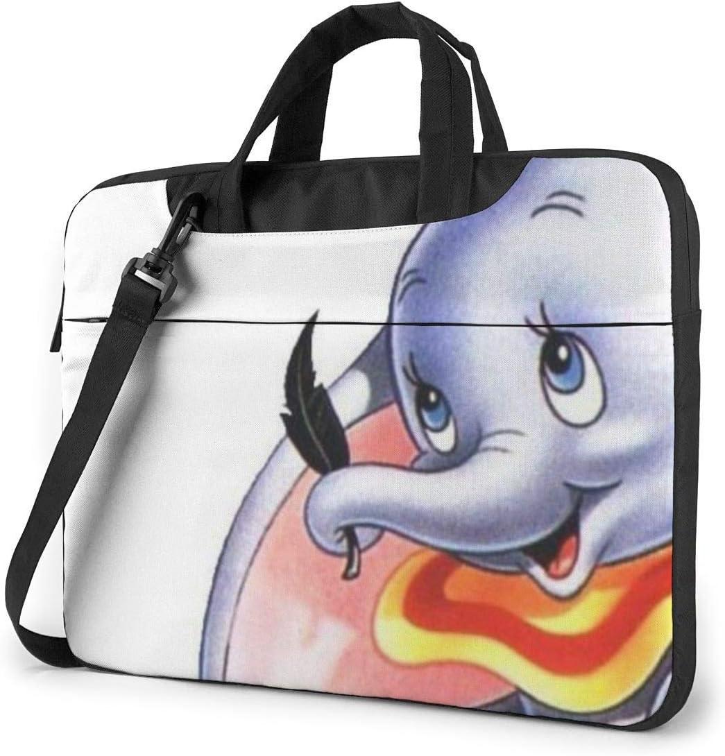 13 Inch Laptop Bag Dumbo The Elephant Laptop Briefcase Shoulder Messenger Bag Case Sleeve