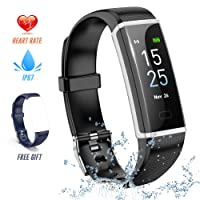 Deals on Strawbleag Fitness Tracker Watch w/Heart Rate Monitor