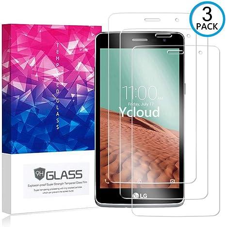 Ycloud [3 Pack] Protector de Pantalla para LG Bello II (2 Generation),[9H Dureza/0.3mm],[Alta Definicion] Cristal Vidrio Templado Protector para LG Bello II (2 Generation): Amazon.es: Electrónica