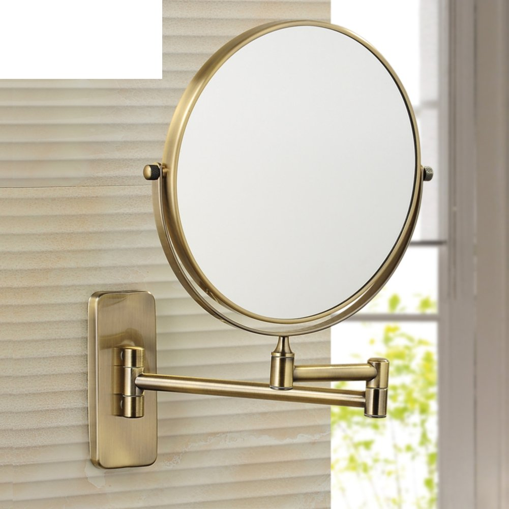 80 off antique bathroom wall rotating mirror folding mirror toilet telescopic mirror two sided