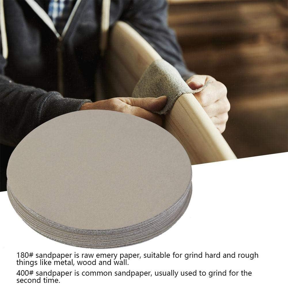 5000# 15pcs Sander Disc Round Sandpaper 180# 400# 1500# 5000# 10000# Grit Sand Polishing Paper Pad 5inch