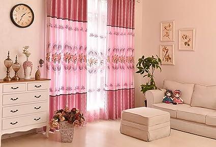 NAUY set di 2 country americano tende del soggiorno camera ...