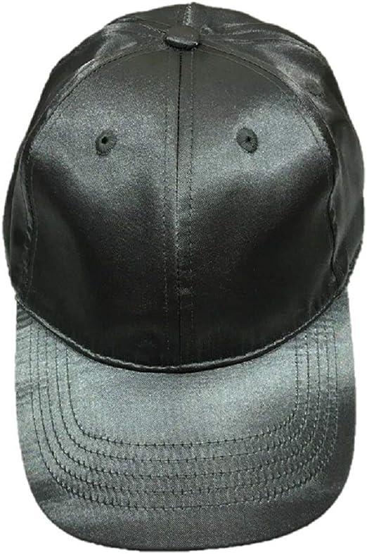 Womens Time and Tru Satin Baseball Cap Hat