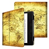 Fintie Folio Case for Kindle Oasis (9th Generation, 2017 Release ONLY) - Premium PU Leather Slim Fit Cover with Auto Sleep / Wake for Amazon All-New 7'' Kindle Oasis E-reader, Ancient Map