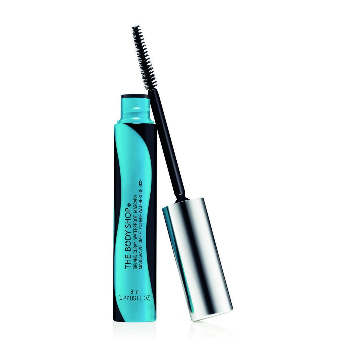 Amazon.com: The Body Shop Big and Curvy Waterproof Mascara, 0.33 Fl Oz - Black: Beauty