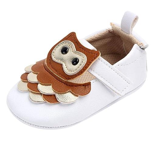 HCFKJ Bebé Niño Niña Invierno Zapatos Botas Lindos Moda Casual Lindo ...