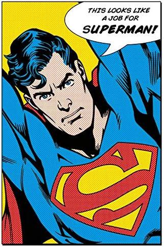 DC Comics Superman assomiglia a un posto per Maxi Poster