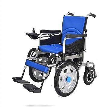 Plegable Portátil Inteligente Silla De Ruedas Coche Minusválidos Ancianos Scooter: Amazon.es: Deportes y aire libre
