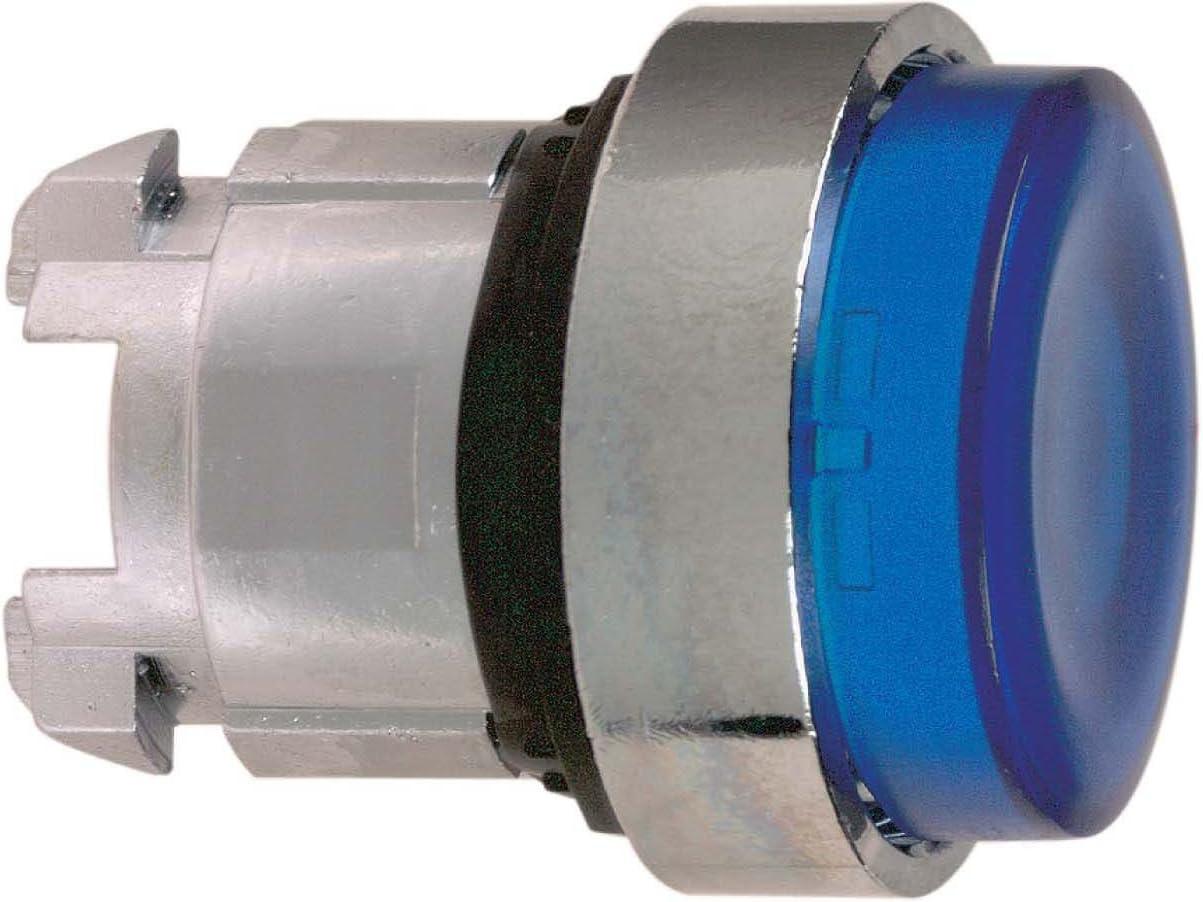 Schneider zb4bh63Frontal Element vorstehend para Bombilla pulsador rastend para módulo LED, Azul, diámetro 22cm