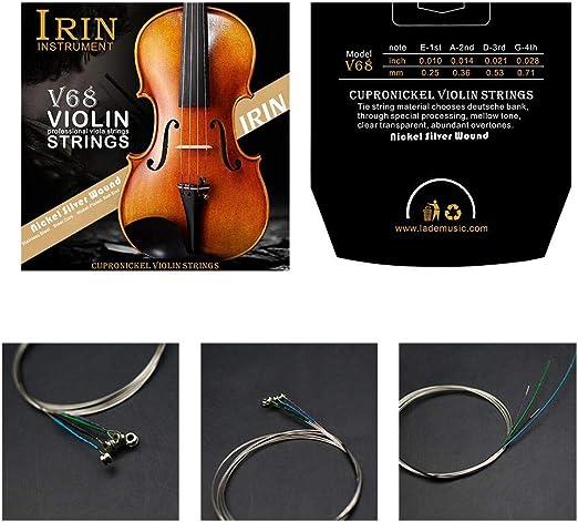 Raitron 4 corde per violino IRIN V68 per 1//8 1//4 1//2 3//4 4//4