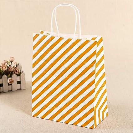 Bolsas de papel kraft para fiestas, bolsa de papel de la ...