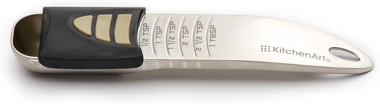KitchenArt 52211 Pro 1//2 Cup Adjust-A-Scoop Satin