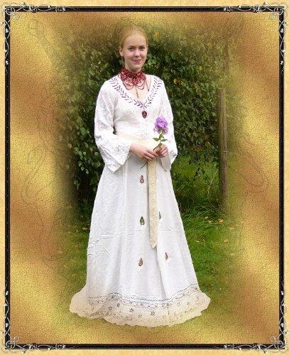 Finja Brautkleid Mittelalter Damen Grün Bäres tXqOxa