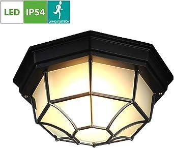 Außen Leuchte Garten Weg Fassaden Strahler Veranda Haus Tür Wand Lampe IP54