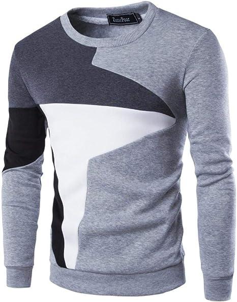 Suéter de algodón para Hombre Otoño Invierno Suéteres Delgados ...