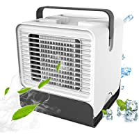 VOUM Personal Air Cooler Fan, Portable Air Conditioner, Humidifier, Box Fan,Purifier 3 in 1 Evaporative Cooler,Mini AC…