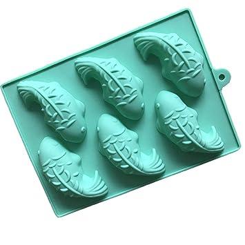 6 Fische Silikon Kuchen Schimmel Fondant Kuchen Dekoration Backen