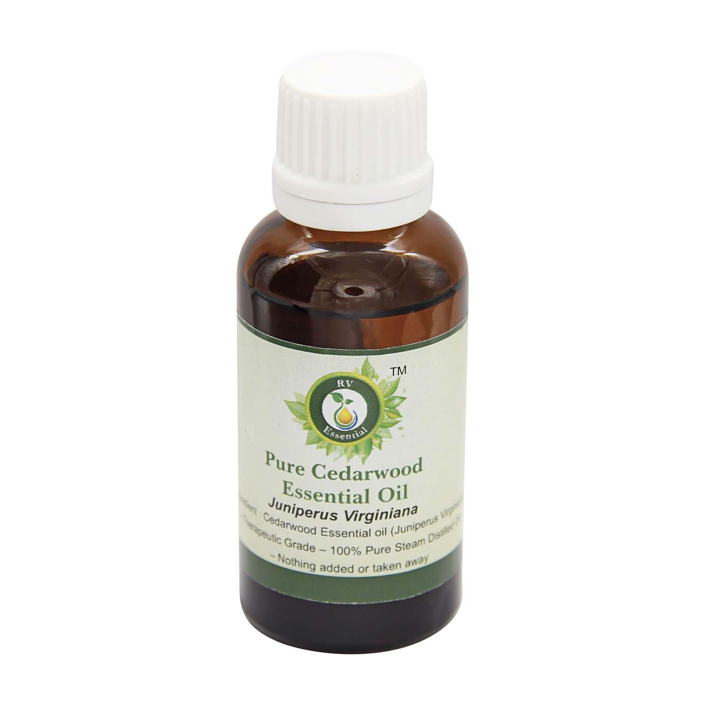 R V Essential 純粋なシダーウッドエッセンシャルオイル630ml (21oz)- Juniperus Virginiana (100%純粋&天然スチームDistilled) Pure Cedarwood Essential Oil B076YVKXPC  630ml (21oz)