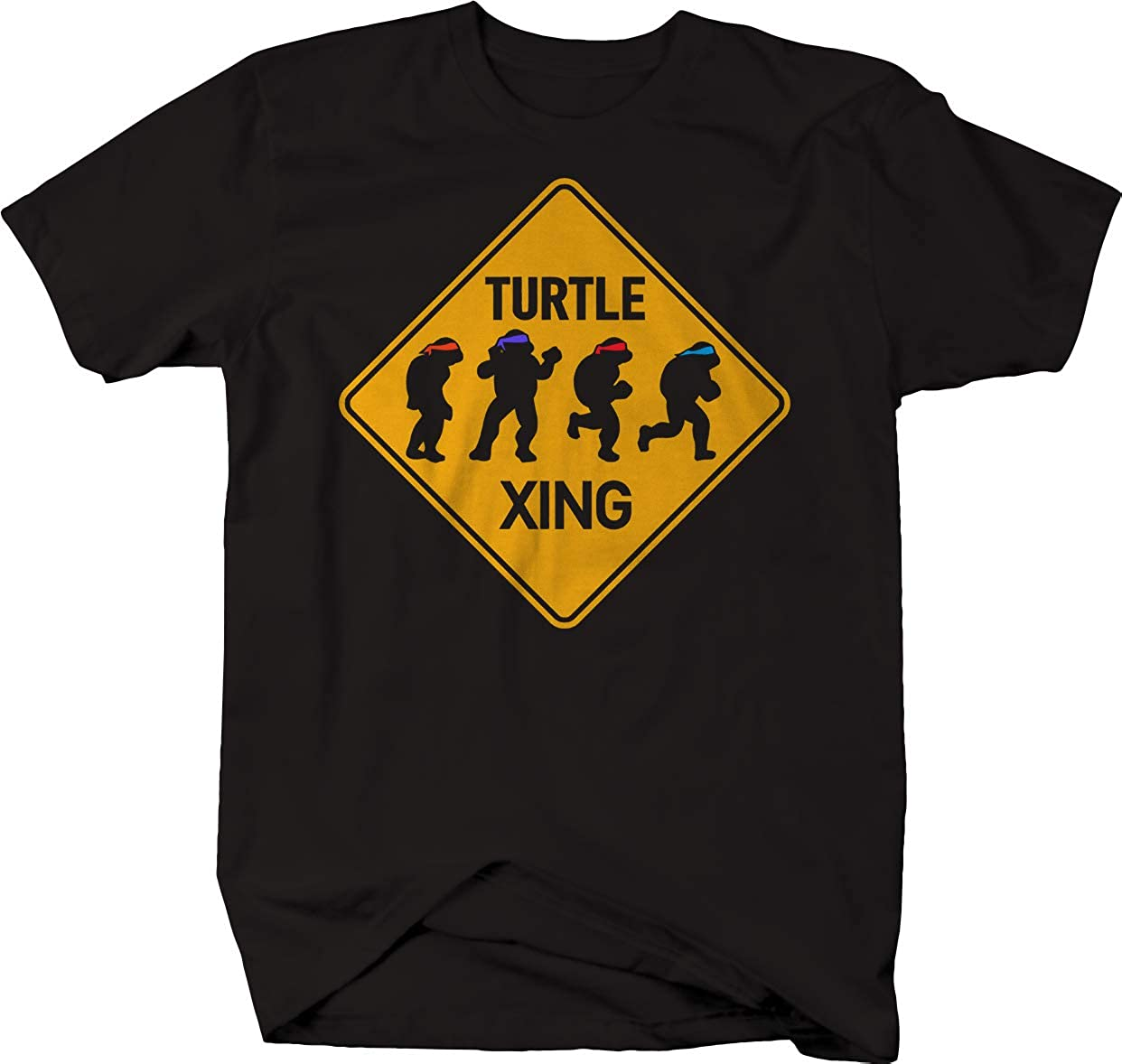 Amazon.com: Ninja Xing Road Sign Turtle Silhouette Adventure ...