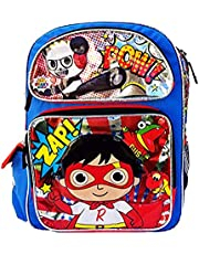 """Ryan's World 16"""" Large Backpack New"""