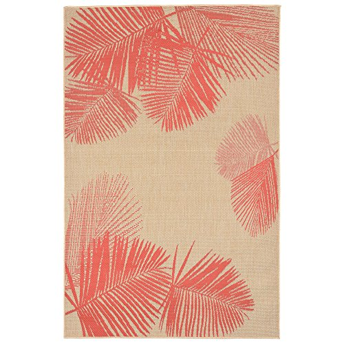 Coral Area Rug - 6