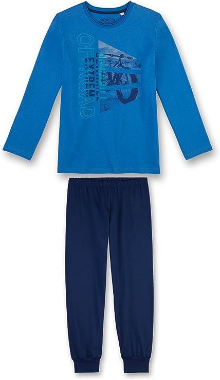 Sanetta Fille Pyjama Set-Lang enfants 140-176 2 pièces Print