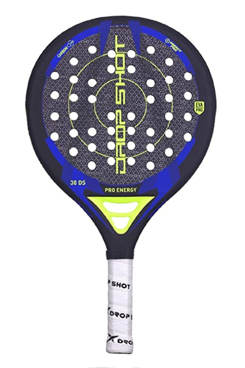 DROP SHOT Pro Energy Pala Pádel, Unisex Adulto, Negro, 360 ...