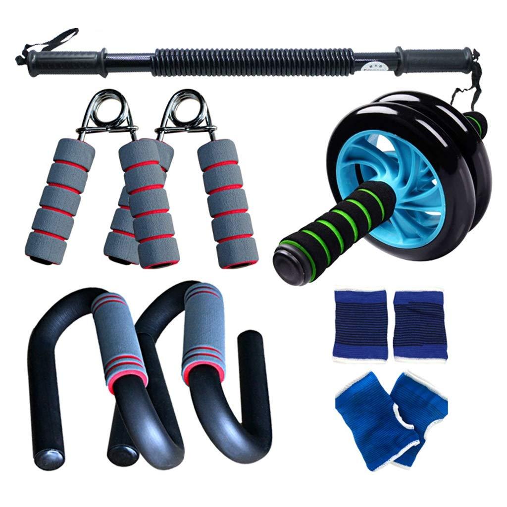 多機能エクササイザ、男性と女性の体重減少装置腹部エクササイザアームプーラーセット室内フィットネス機器 40KG C B07HD9FKYT