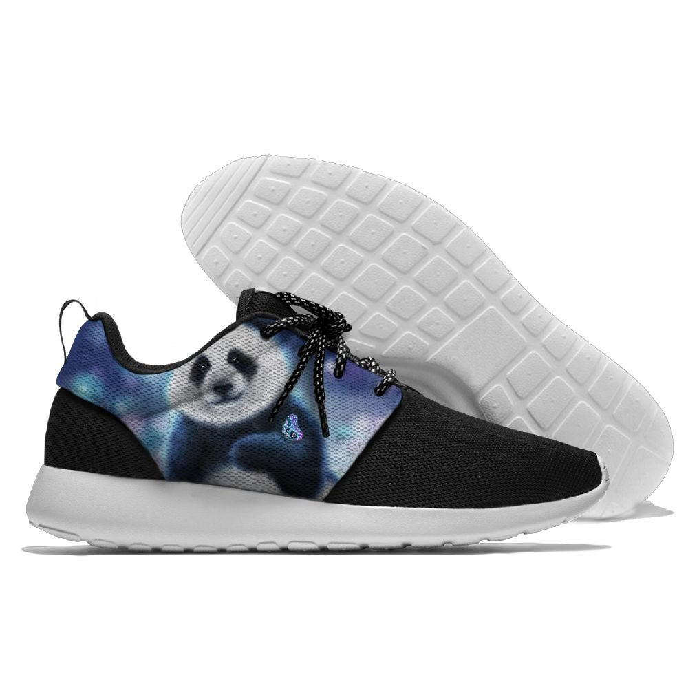 Mens Running Giant Panda Shoes Fashion Breathable Sneakers Mesh Soft Sole Casual Athletic Lightweight