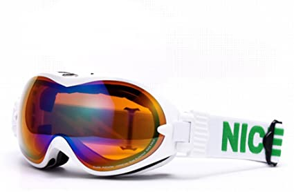 Unisex Snow GOGGLES with Dual Layer Anti-Fog Lens Windproof Spherical Ski GOGGLE